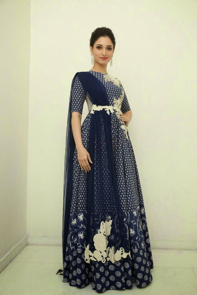 Tamanna Bhatia In Floor Length Anarkali