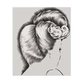 Creative Hairshaping and Hairstyling You Can Do - Cutting, Rolling, Curling and Waving Instructions for 1940s Hairstyles