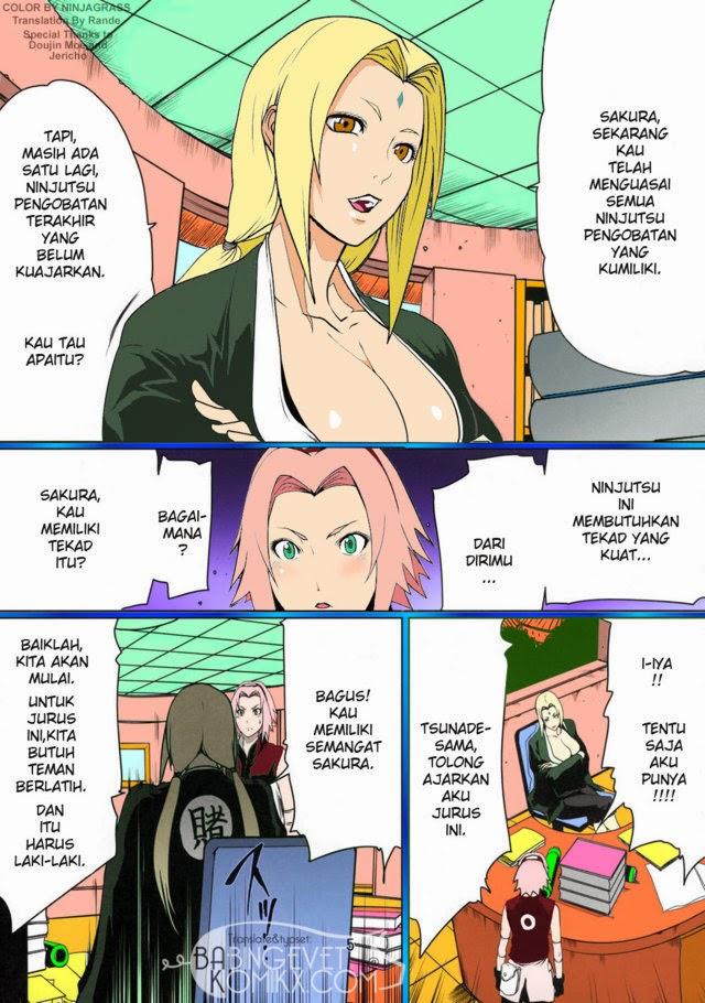 Naruto Untuk Membantu Sakura Penasaran Dapatkan Komik
