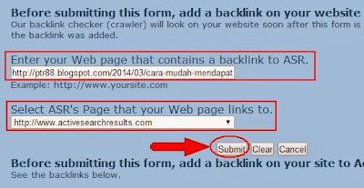 Cara Mendapatkan Backlink Gratis Dari ASR