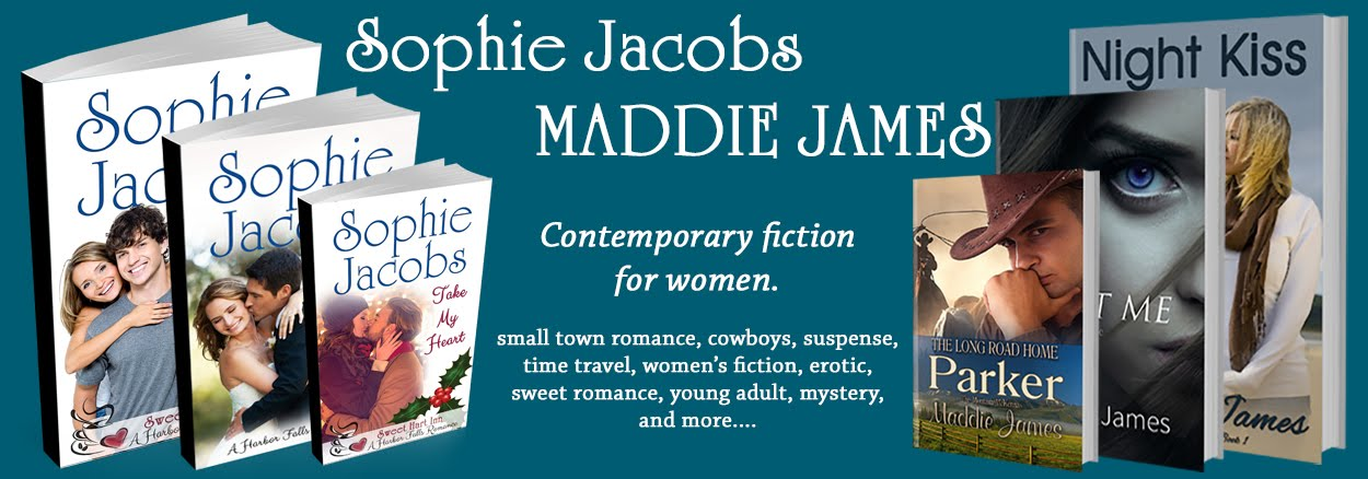 The Official Blog of Romance Author Maddie James/Sophie Jacobs