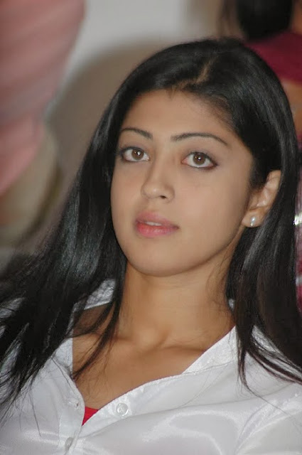 Pranitha Cute In White Shirt