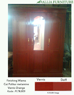 Contoh Furniture Politure Orange