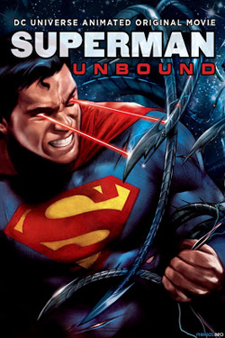 Superman: Unbound 2013 poster