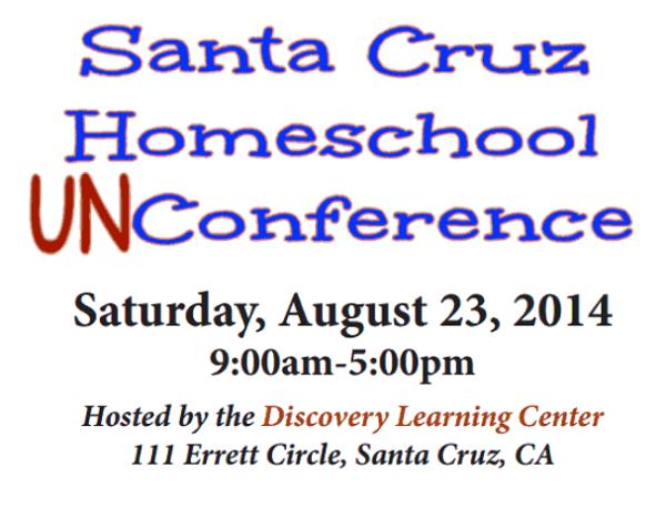 #Homeschool #Conference in #SantaCruz Aug 23 #homeschooling