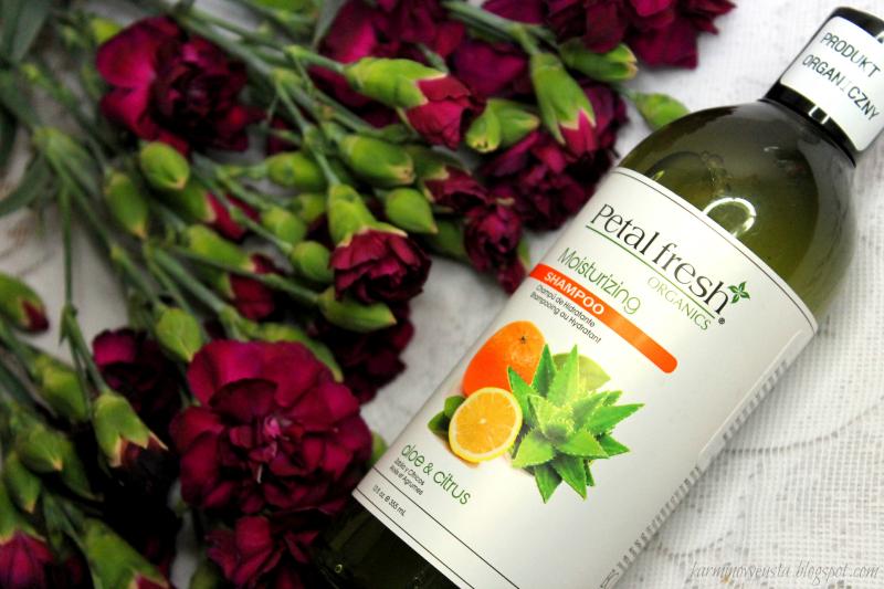 Petal Fresh Organic nawilżający szampon do włosów