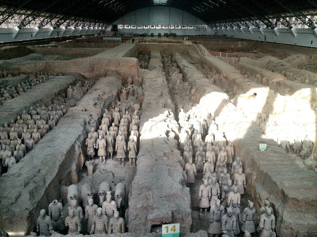 Pit 1 - The terracotta warriors - Xi'an, China