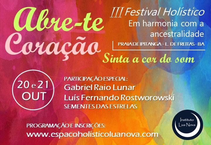 III Festival Holístico!