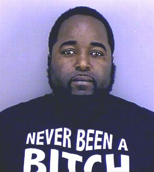 Mug shots of people wearing funny t shirts international pictures