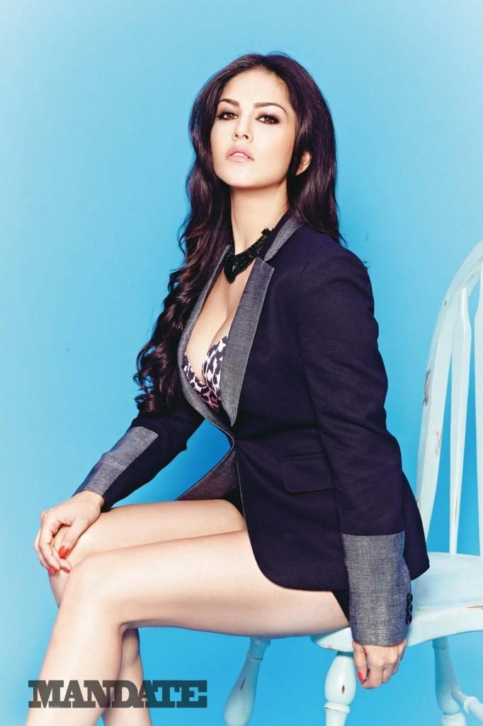 Sunny Leone Photoshoot For Mandate Magazine
