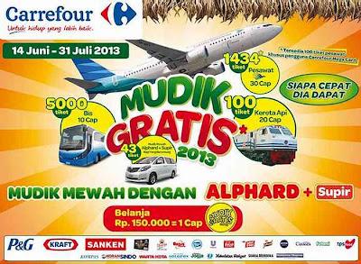 Mudik Gratis 2013 Carrefour