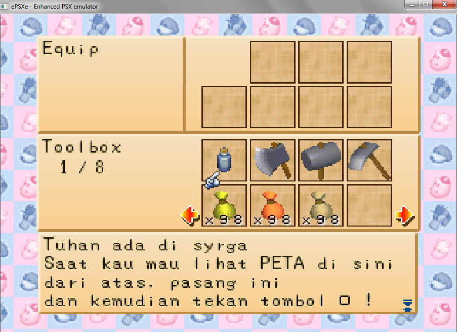 Cheat harvest moon back to nature bahasa indonesia di pc