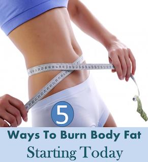 5 Ways To Burn Body Fat Starting Today