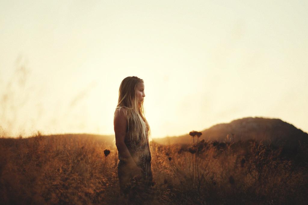 Faliraki solnedgång porträtt