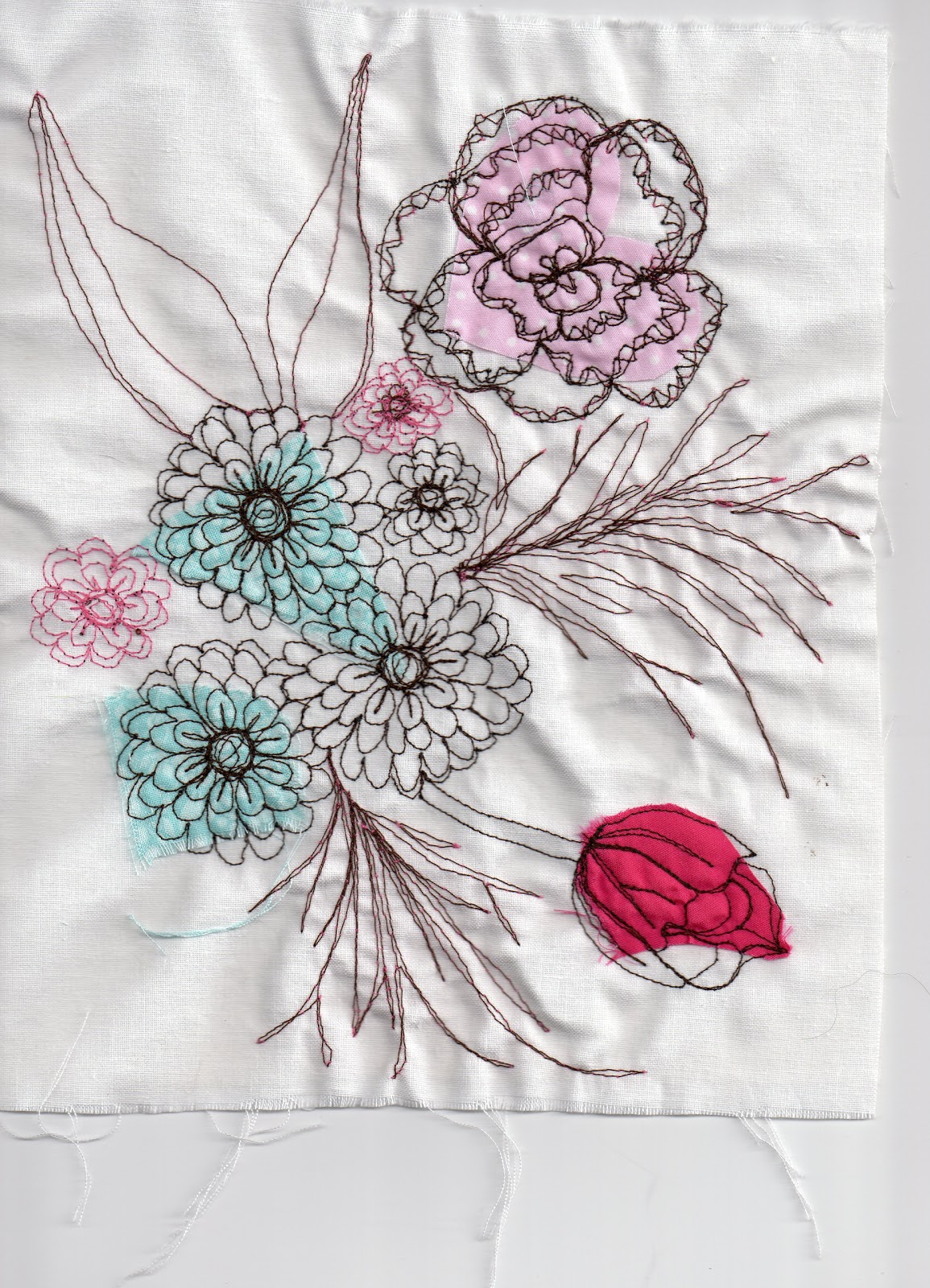 Emma elizabeth clease free machine embroidery
