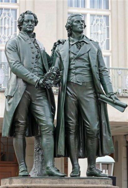 Briefe Goethe Und Schiller : Historia