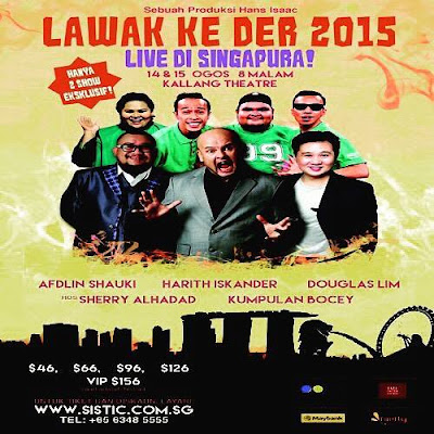 Lawak Ke Der Live In Singapore 2015 Watch Online