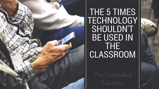 should technology be used in the classroom Technology use in the classroom does differ between ages and grades in classrooms with younger kids, lucarelli said they might be using apps to work on math fluency or learning how to read older .