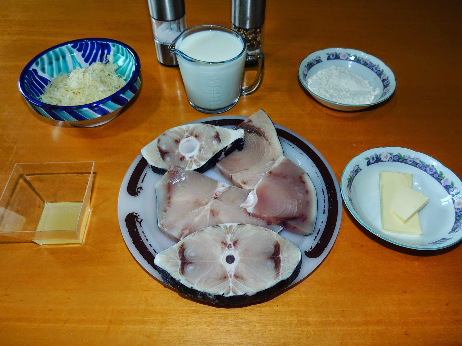 El placer de cocinar emperador en salsa blanca for Cocinar emperador