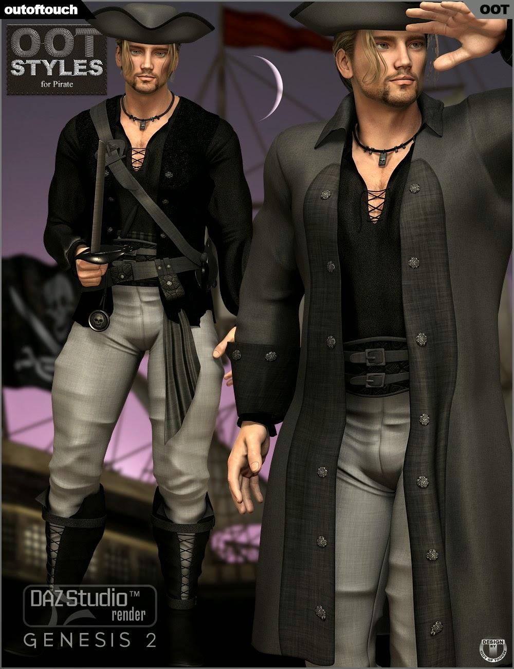 Styles OOT pour Pirate pour Genesis et Genesis 2 Homme