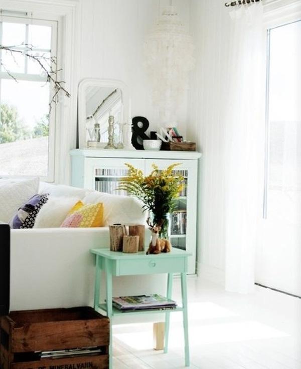 Belle Maison Color Love Mint Green