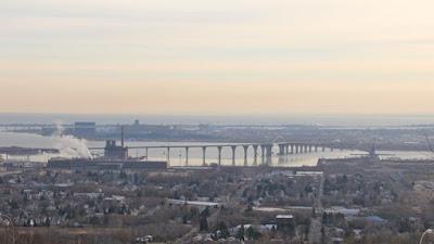 urban infrastructure, Duluth Harbor