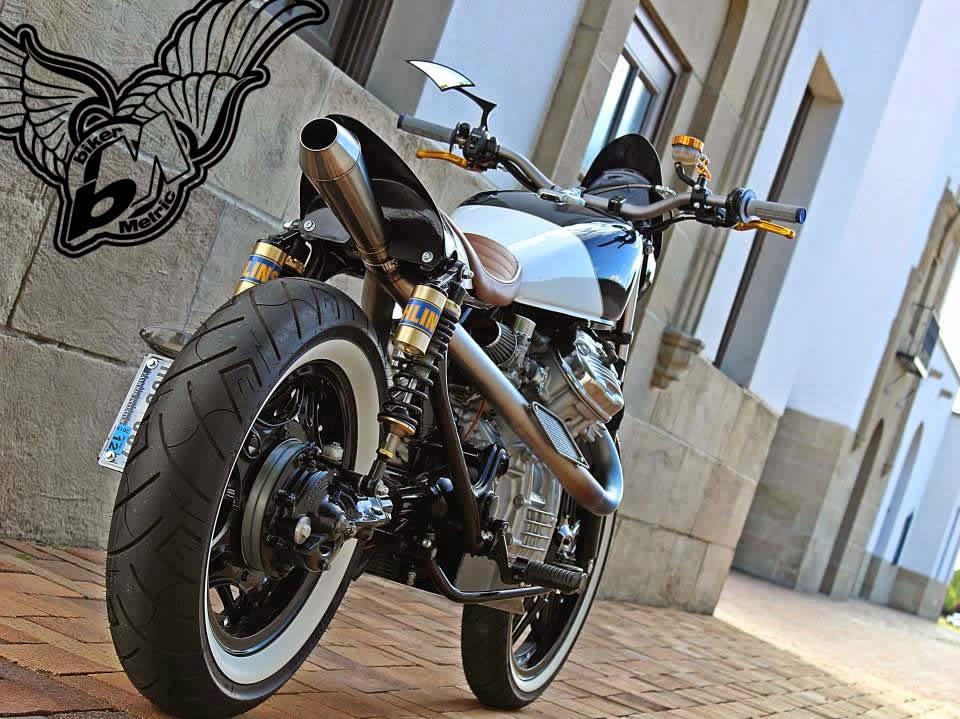 Honda CX500 Custom Whitewall Tires