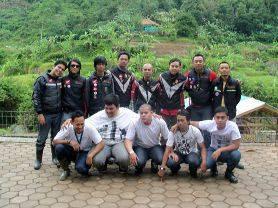 BRICT ( Blade Rider Club Tangerang ) Salah satu club motor Honda Blade di Tangerang