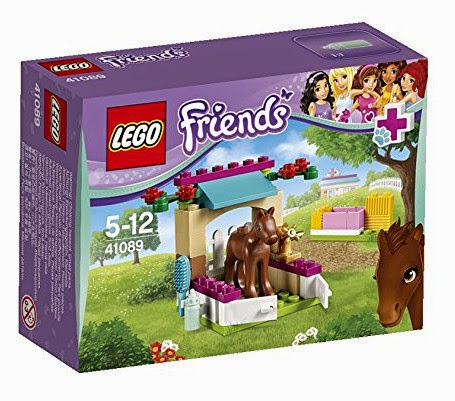 JUGUETES - LEGO Friends  41089 El Pequeño Potro  Producto Oficial 2015 | Piezas: 43 | Edad: 5-12 años