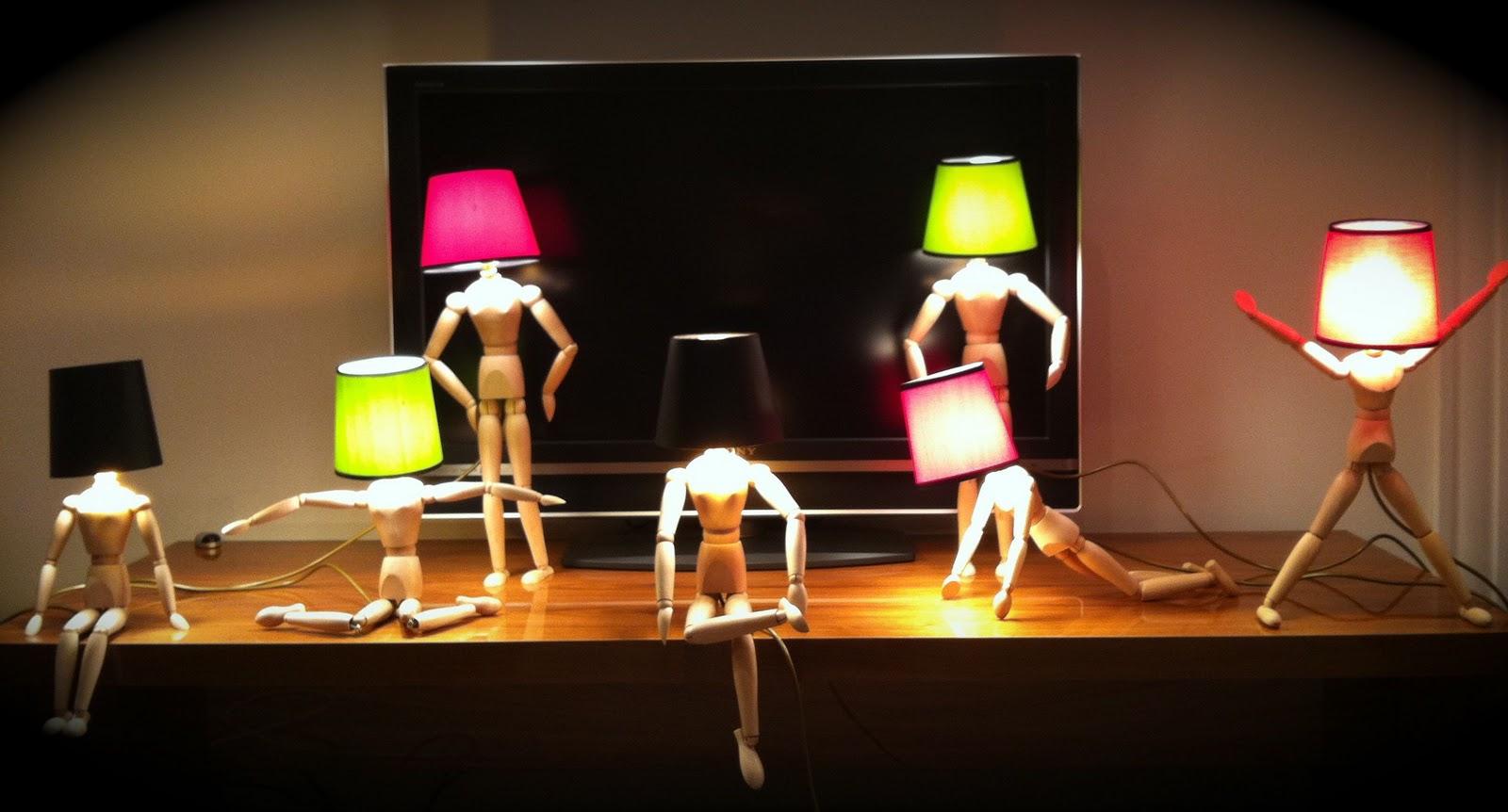 Mannequin Lamp godiva boutique: mannequin lamps