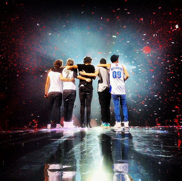One Direction: At the Vector Arena, Auckland - TMH Tour ...