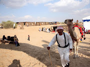 The Camp will give visitors a fascinating insight into the ageold UAE .