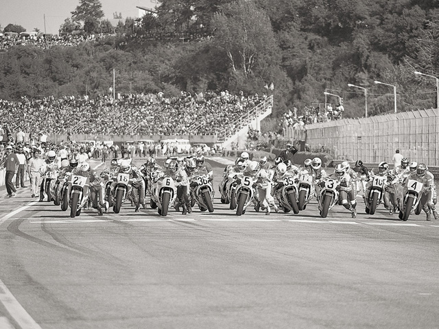 Photo Race d'époque  - Page 2 1983+San+Marino+500cc+Grand+Prix,+Imola