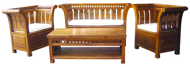 perabot kayu jati