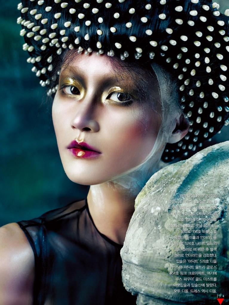 usta ombre Magazine: Vogue, Korea, October 2012