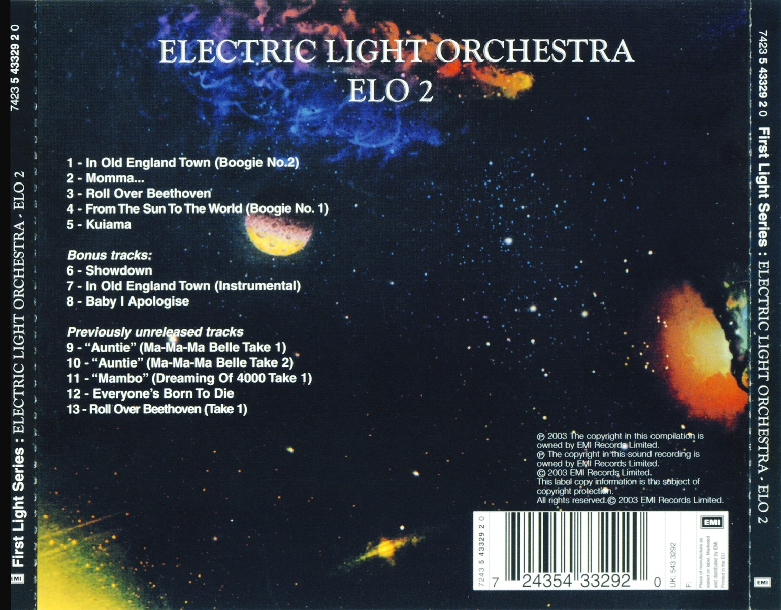 Listen to music by electric light orchestra on pandora