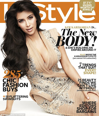 Pictures Of Kim Kardashian As She Covers Instyle Australia 1