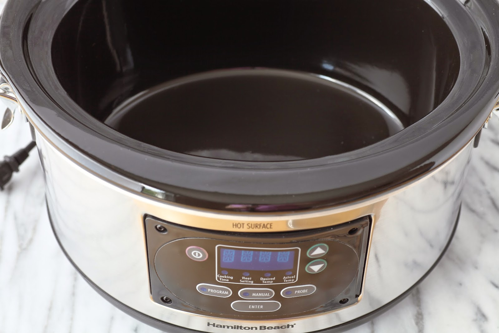 how to turn on slow cooker