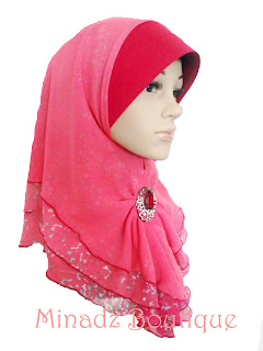 online:Tudung&Selendang Terkini: New Collection : Tudung Fareeda