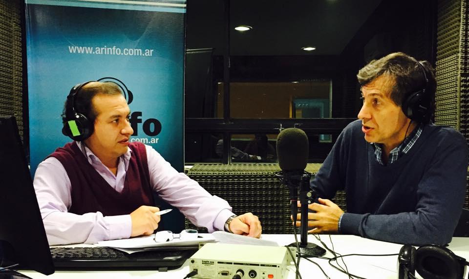 Con el Dr. Gustavo Debaisi