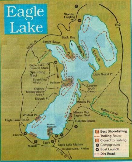 Fishing california and 2017 fishing maps fishing report for Fishing lake maps