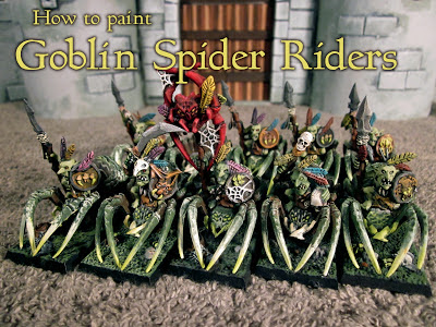 How to Paint Warhammer Goblin Spider Riders