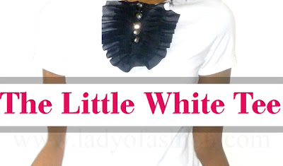 How To Style White Fashion Tee