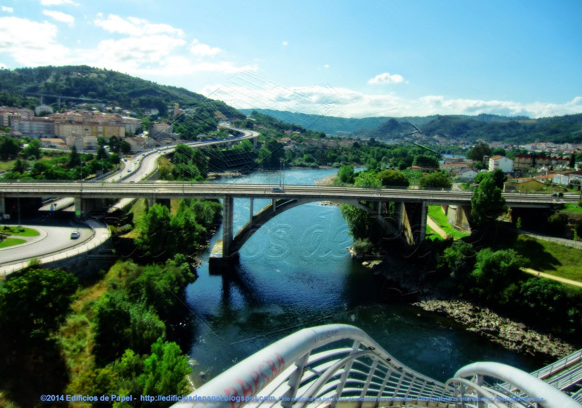 Es el quinto puente de Ourense sobre el río