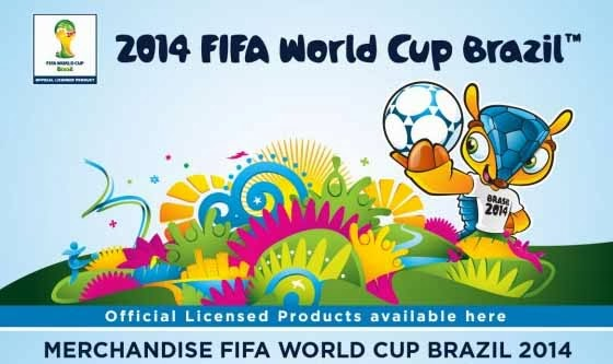 Alfamart official licensed merchandise FIFA piala dunia Brazil 2014