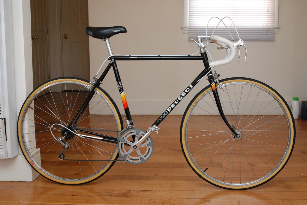 56cm Peugeot Iseran French Steel Road Bike