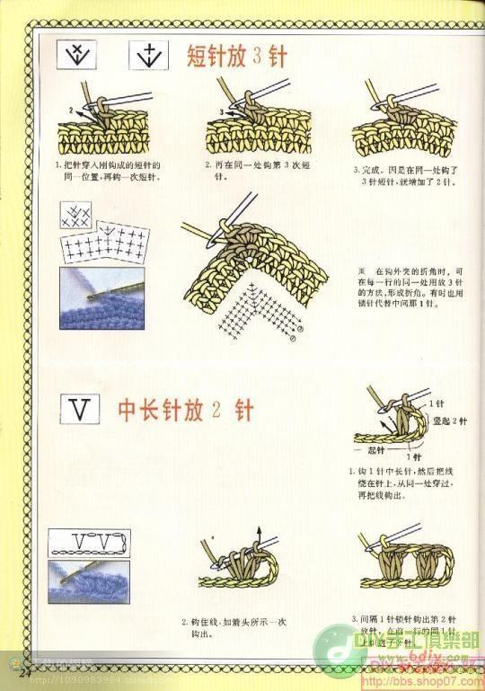 Обозначения вязания крючком на испанском 47