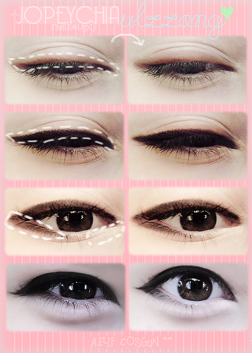 ariska pue's blog: Korean Eyes Makeup