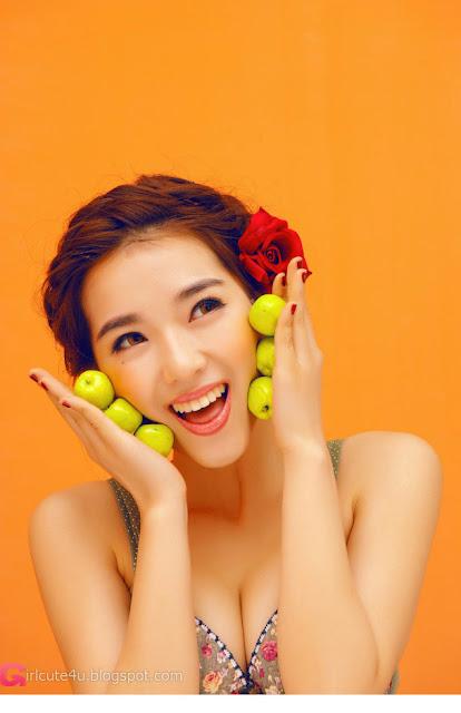 2 Orange color of sexy-Very cute asian girl - girlcute4u.blogspot.com