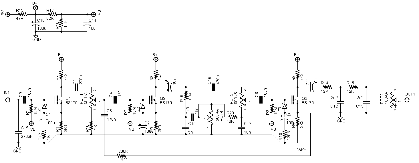 king of tone schematic